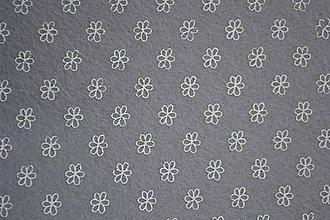 Textil - Dekoračný filc - kvietok - 6301742_
