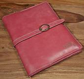 Na tablet - Kožený obal na tablet a knihu-zápisník - 6301516_