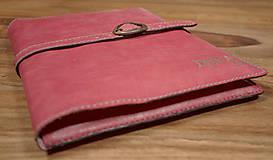 Na tablet - Kožený obal na tablet a knihu-zápisník - 6301519_