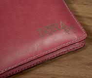 Na tablet - Kožený obal na tablet a knihu-zápisník - 6301520_