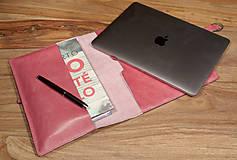 Na tablet - Kožený obal na tablet a knihu-zápisník - 6301524_