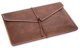 Na notebook - Kožený obal na MacBook Air 13 - 6301558_