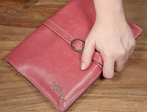 Kožený obal na tablet a knihu-zápisník