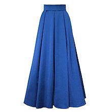 Sukne - Spoločenská skladaná sukňa s tylovou spodničkou rôzne farby - 6302189_