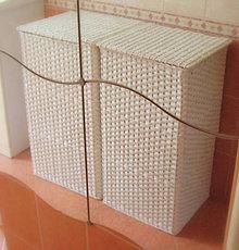 Košíky - Kôš na prádlo s pevným vrchnákom - 6301840_