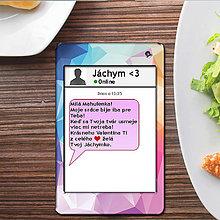 Papiernictvo - Valentínska SMS pohľadnica 2 - abstract - 6301681_