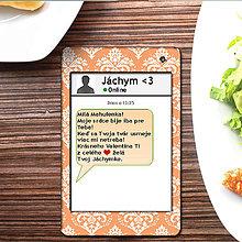 Papiernictvo - Valentínska SMS pohľadnica 11 - elegant - 6302138_