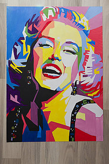 Obrazy - Happy Marilyn - 6307543_