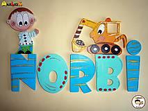 Nápis - Norbi