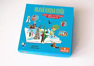 Hračky - Hravá kniha kníh - spoločenská hra - 6307109_