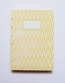 Papiernictvo - Žltý školský zošit - 6306955_