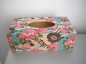 Krabičky - Krabička na vreckovky - 6308721_