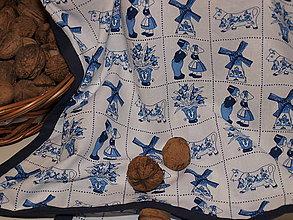Úžitkový textil - ...v modrom... - 6308957_