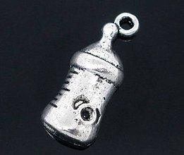 Komponenty - Prívesok kojenecká fľaška - 6307629_