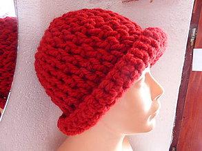Čiapky - červený klobúk..... - 6310595_