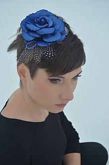 Ozdoby do vlasov - SUPER CENA! Čelenka Sapphire Dream - 6310544_