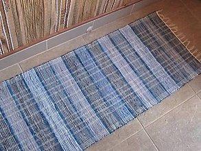 Úžitkový textil - KOBEREC tkaný rifľový 70 x 150 cm - 6309988_