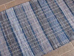 Úžitkový textil - KOBEREC tkaný rifľový 70 x 150 cm - 6309992_