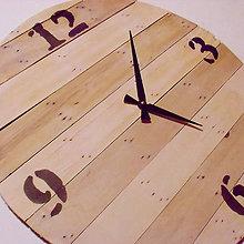 Hodiny - Drevené hodiny № 22 - 6313820_