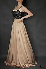 Sukne - Spoločenská skladaná sukňa rôzne farby - 6313017_