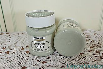 Farby-laky - Decor Paint Soft 230ml-country zelená - 6312367_