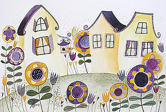 Kresby - Kde kvitnú najkrajšie kvety - 6311483_