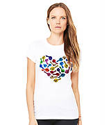 Tričká - United colors of love - kratkorukavove - zľava 15% - 6310312_