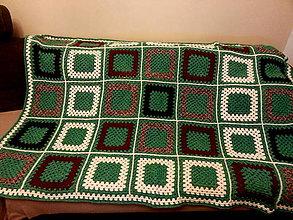 Úžitkový textil - DEKA Vianočná s Darčekom - 6310062_