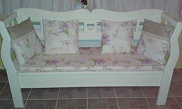 Úžitkový textil - Vankušiky a sedák pre Janku - 6314104_