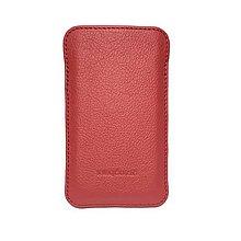 Na mobil - Kožené púzdro na mobil (rôzne farby a rozmery) - 6318209_