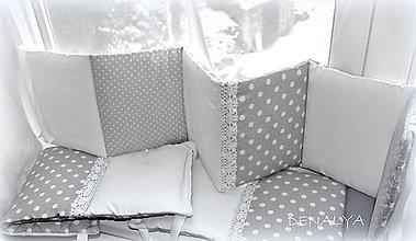 Textil - Mantinel 240x25 do postieľky z kolekcie NEBESÁ - 6319081_