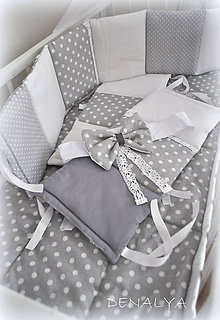 Textil - Samostatne mašľa bez baldachýnu - 6319123_