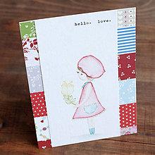 Papiernictvo - maľované hello. love. - 6318233_