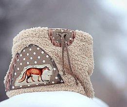 Detské doplnky - Liška od Sněžné hory - 6319385_