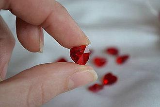 Komponenty - Prívesok srdce, 10mm, 0.25€/ks - 6316711_