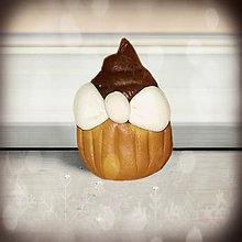 Hračky - Muffin/cupcake hračka (čokoládový) - 6318906_