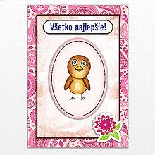 Papiernictvo - Zvieratká - pohľadnice - 6319483_