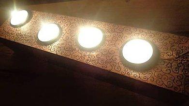 Svietidlá a sviečky - Svietnik vypaľovaný III. - 6318066_