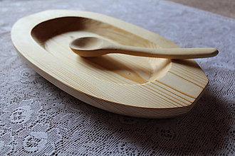 Nádoby - Drevený tanier/misa - 6323950_