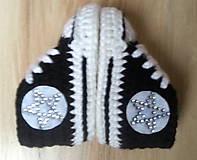 Topánočky - Tenisky s kamienkami - 6322452_