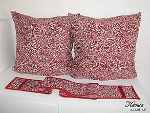 Úžitkový textil - Súprava Wine ornament - 6323482_