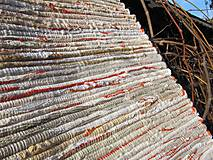 KOBEREC tkaný 70x150cm bielo krémový