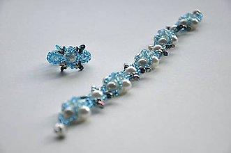Sady šperkov - náramok s prsteňom - 6322772_