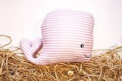 - Textilná hračka ružová rybkaVELE - 6323348_