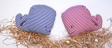 - Textilná hračka námornícka rybkaVELE - 6323376_