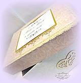 Krabičky - Krabica na svad. pohľadnice