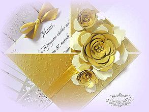 Papiernictvo - Klenot v srdci... - 6320225_