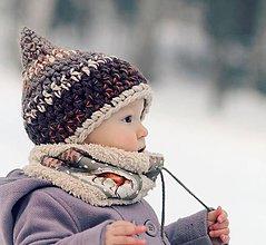 Detské čiapky - Skřítek od Bílé rokle - 6323735_
