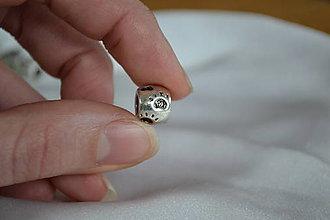 Korálky - Pandorková korálka so stopami, 0.40€/ks - 6322785_