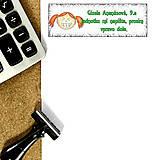 Papiernictvo - Vtipná menovka na písomku 2 - 6323513_